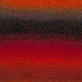13 - Rød/orange/grå